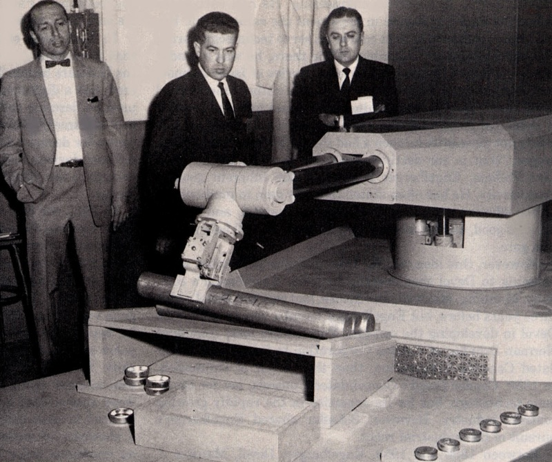 Presentation of the very first robot Unimation (credit: Unimation)