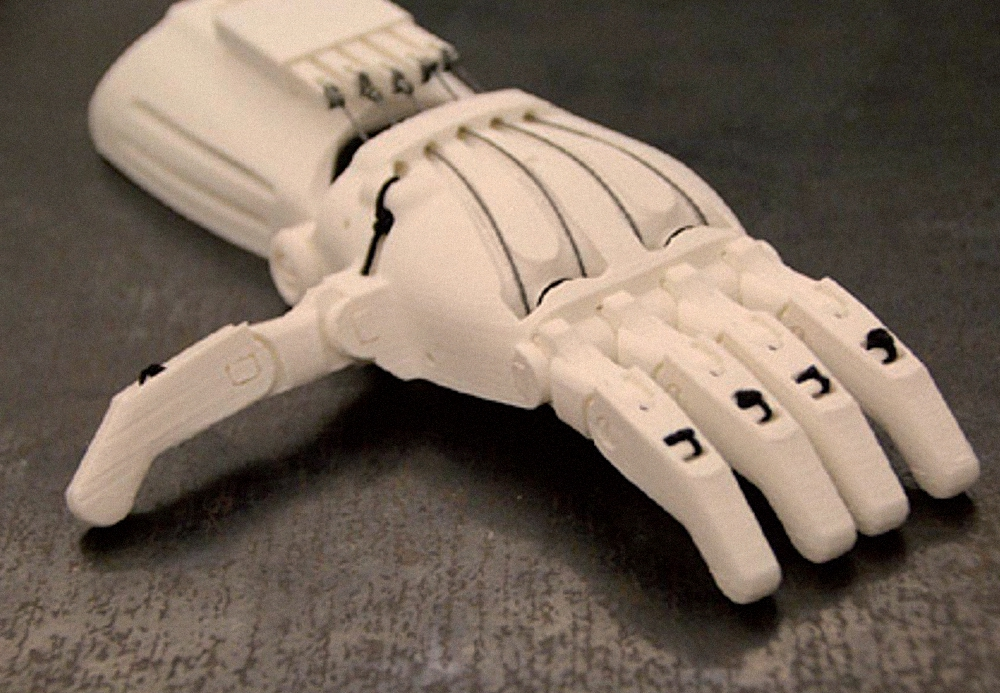 e-Nable Foundation brings together volunteers for 3D printing prostheses for children