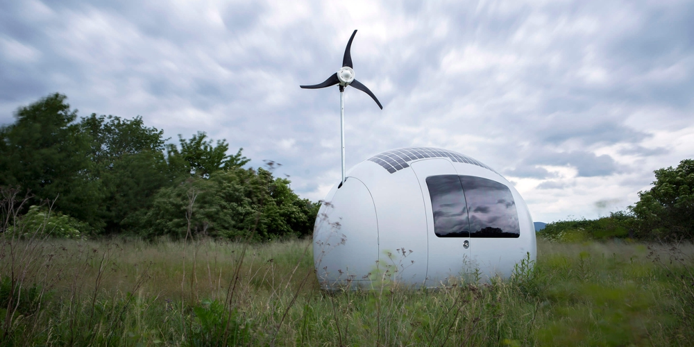 Ecocapsule is project of young architects from Slovakia