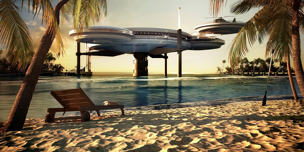 Water Discus Hotel (credit: DOT Press)