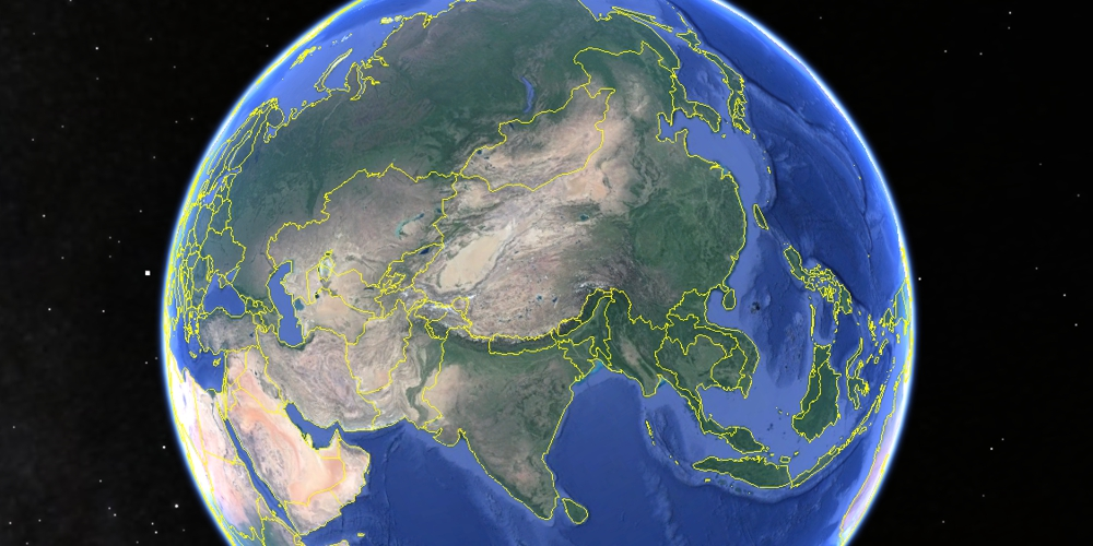 google earth china unitedlife