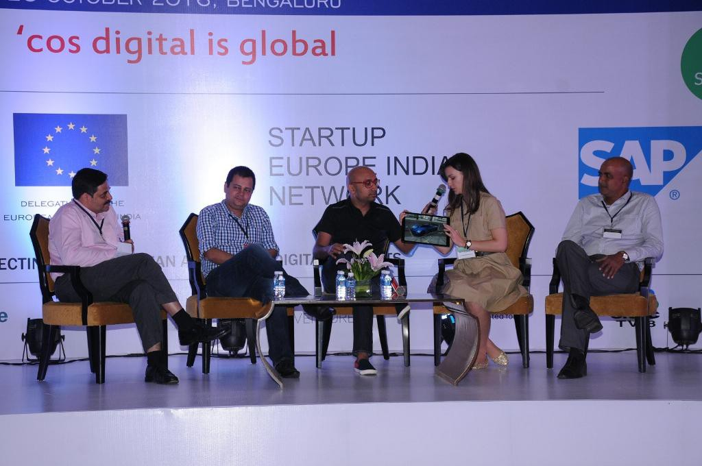 Slovak Ixworx at Startup Europe India Network