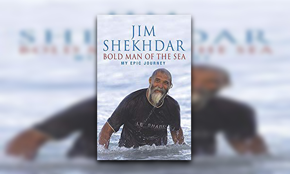 Cover of Jim Shekhdar's book Bold Man of the Sea