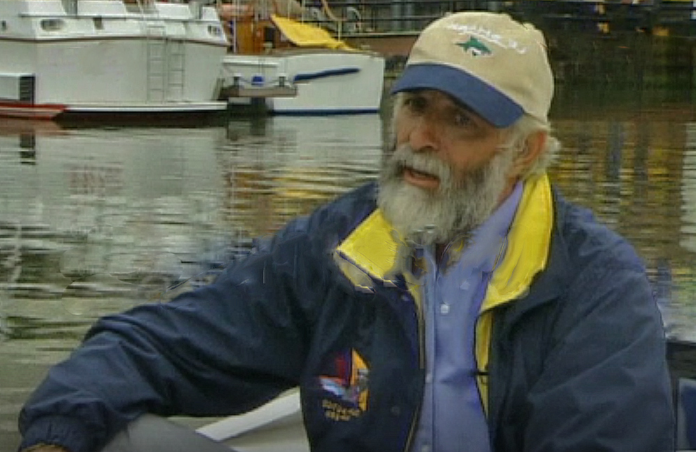 Interview with Jim Shekhdar, ocean rower. Credit: getty images screenshot